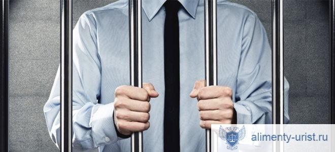 Как взыскать алименты с осужденного если отец в тюрьме?