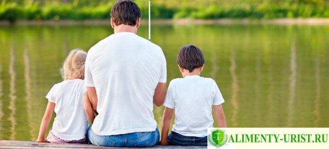 Порядок общения ребенка с отцом после развода