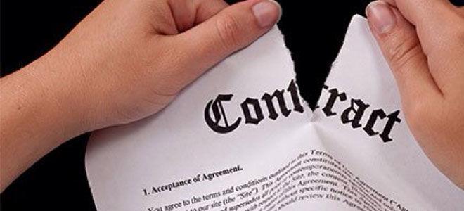 Односторонний отказ от исполнения брачного договора
