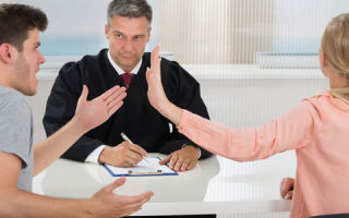 Помощь юриста при разводе через суд онлайн