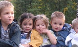 Алименты на пятерых детей