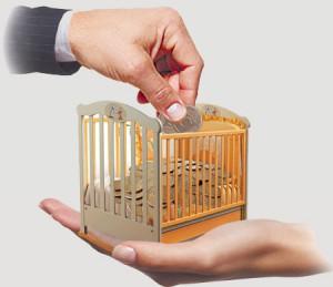 срок выплаты алиментов на ребенка