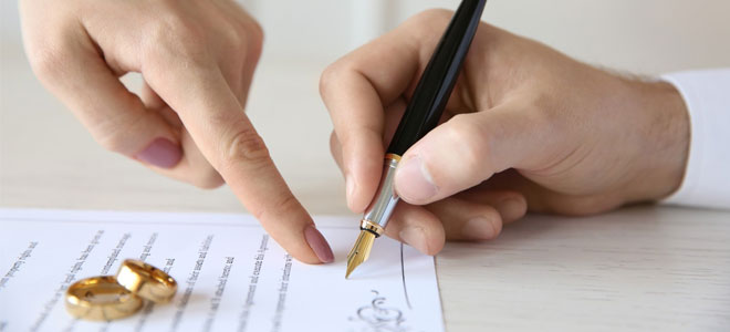 Брачный договор – панацея от проблем при разводе