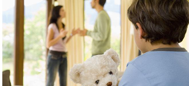 Наличие детей при расторжении союза