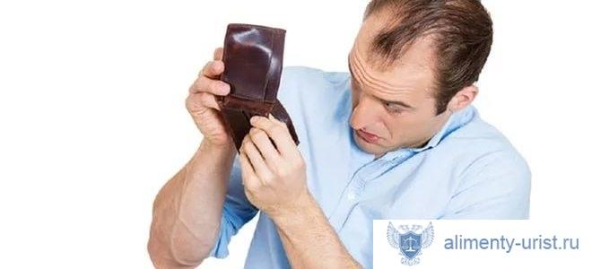 Минимальная выплата по алиментам для безработных